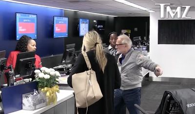 Former astronaut Buzz Aldrin was caught on video yelling at Delta Air Lines agents after he reportedly missed his flight at Los Angeles International Airport this week. (TMZ)