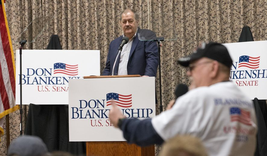 Former Massey CEO Don Blankenship, initially seen as a long-shot candidate, is more than holding his own in West Virginia's Republican primary race for Senate. (Associated Press/File)