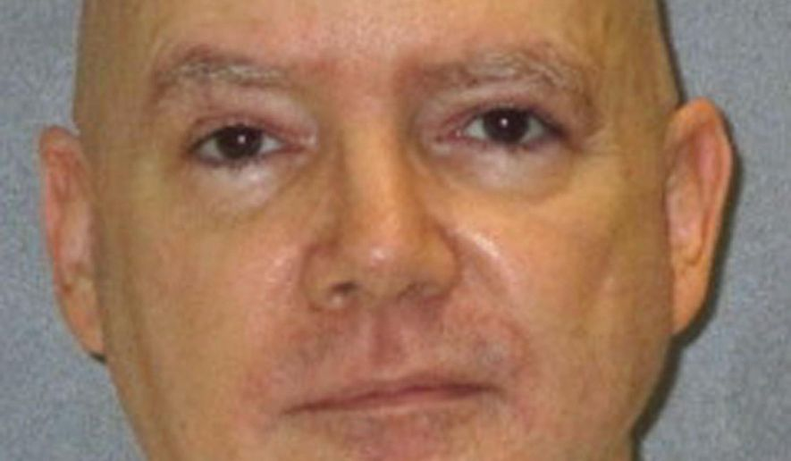 FILE - This file photo provided by the Texas Department of Criminal Justice shows Anthony Allen Shore. Shore, a Houston-area sex offender who was convicted of killing a young woman and confessed to three more strangling deaths, is set for lethal injection in Texas on Thursday, Jan. 18, 2018, in what would be the first U.S. execution of 2018. (Texas Department of Criminal Justice via AP, File)