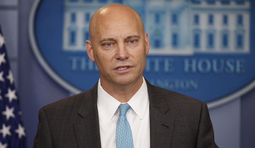 Marc Short, White House legislative director. (Associated Press/File)