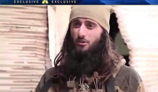 Zulfi Hoxha, a senior ISIS commander known as Abu Hamza al-Amriki, graduated from Atlantic City High School in 2010. (Image: NBC-10 Philadelphia screenshot)