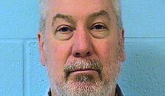 FILE - This undated file photo provided by the Illinois Department of Corrections shows former Bolingbrook, Ill., police officer Drew Peterson. The Illinois Supreme Court on Friday, Jan. 19, 2018, again upheld the murder conviction of Peterson in the 2004 drowning death of his third wife. (Illinois Department of Corrections via AP, File)