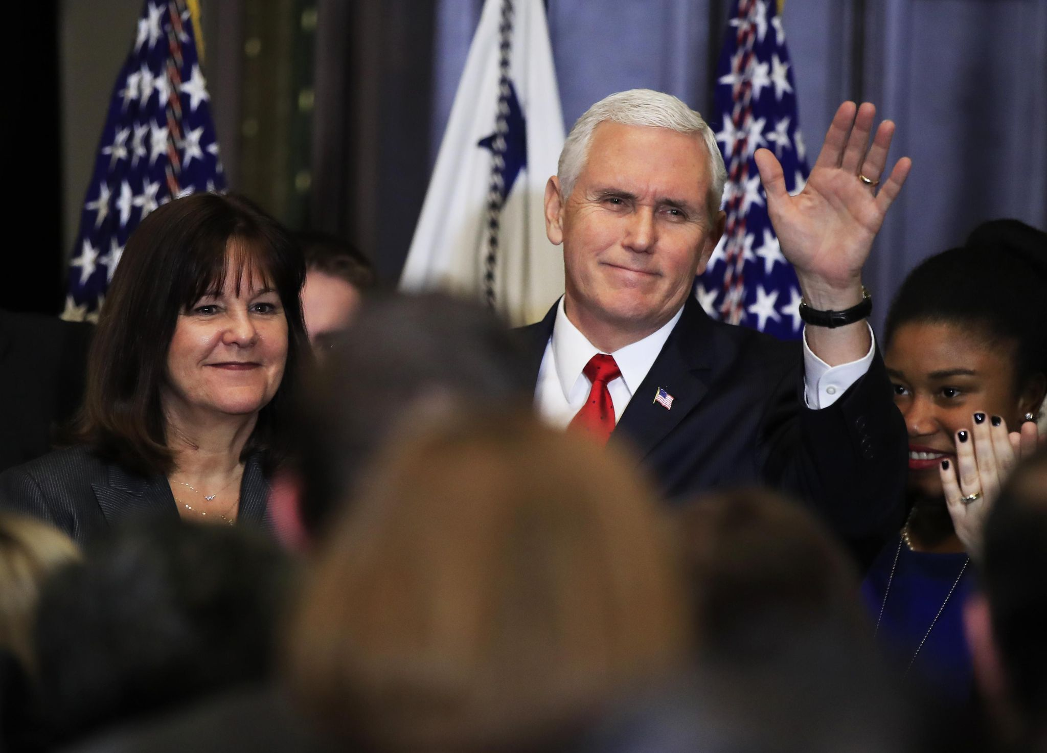 Trump addresses March for Life via video; Pences attend pre-march rally in person