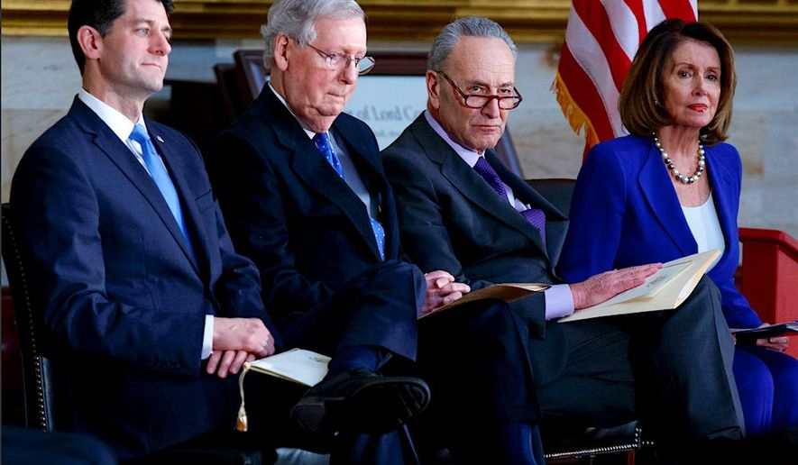 A new CNN poll said that 56 percent of Americans said that approving a budget agreement to avoid a shutdown was more important than continuing the Deferred Action for Childhood Arrivals program. Only 34 percent of respondents chose DACA over a government shutdown. (Associated Press)