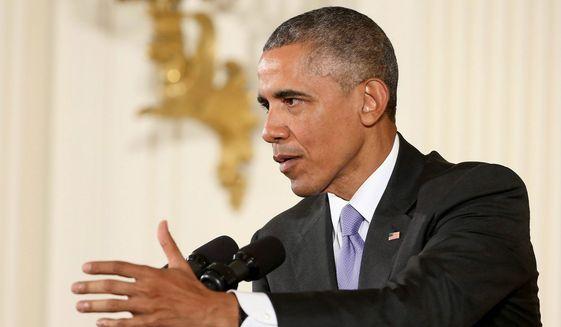 Former President Barack Obama. (Associated Press) ** FILE **