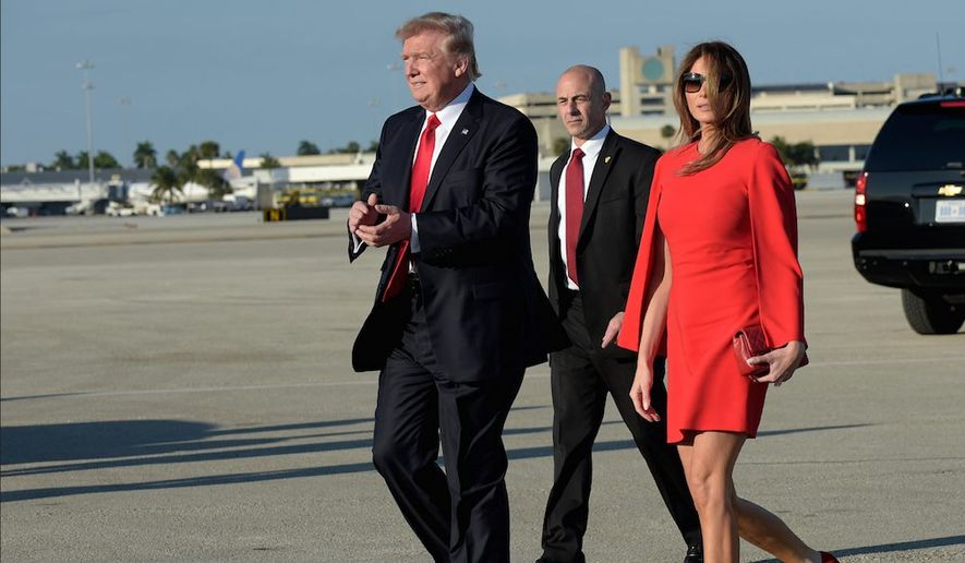According to a new poll. President Trump has a 59 percent approval rating from voters on his handling of the U.S. economy and job creation. (Associated Press)