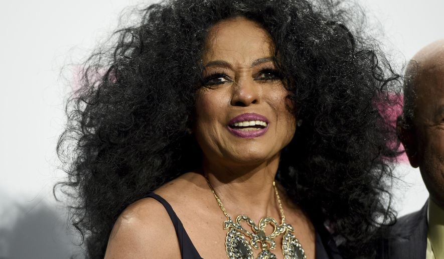 FILE - In this Nov. 19, 2017 file photo, Diana Ross, lifetime achievement award recipient, poses in the press room at the American Music Awards in Los Angeles. Ross, along with Bob Marley, Chuck Berry, the Beach Boys and Journey, are part of a group of iconic musicians who have never won a Grammy. In 2012, Ross did win the Lifetime Achievement Award, a noncompetitive honor, from The Recoding Academy. (Photo by Jordan Strauss/Invision/AP, File)