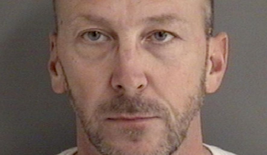 "This booking photo released by the Story County Jail, shows Francis ""Chip"" Baltimore. State Rep. Chip Baltimore, a Republican from Boone whose legal first name is Francis, was arrested early Friday, Jan 19, 2018, in Ames, Iowa, on suspicion of drunken driving and possessing a firearm while under the influence, following a report his vehicle was weaving between lanes in the early morning hours. (Story County Jail via AP)"