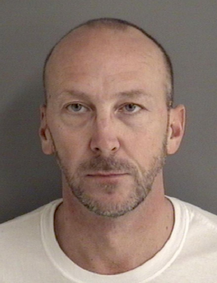 """This booking photo released by the Story County Jail, shows Francis """"Chip"""" Baltimore. State Rep. Chip Baltimore, a Republican from Boone whose legal first name is Francis, was arrested early Friday, Jan 19, 2018, in Ames, Iowa, on suspicion of drunken driving and possessing a firearm while under the influence, following a report his vehicle was weaving between lanes in the early morning hours. (Story County Jail via AP)"""