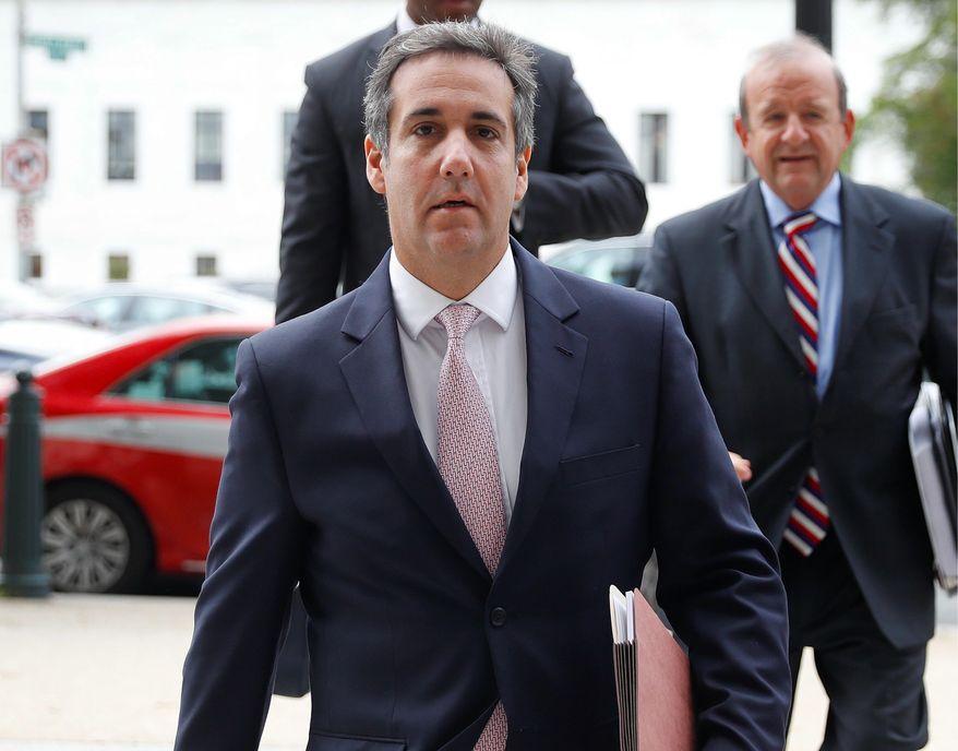 Michael Cohen, President Trump's personal attorney. (Associated Press/File)