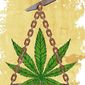 Marijuana Laws Illustration by Greg Groesch/The Washington Times