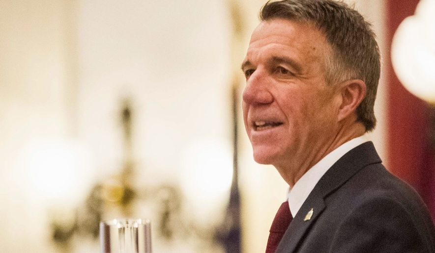 Vermont Gov. Phil Scott, who said he has been a Republican longer than President Trump, said there are times he will agree with him and times he will oppose his policies. (Associated Press/File)