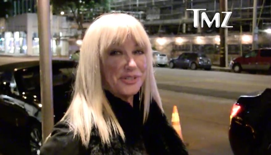 "Former actress and self-help author Suzanne Somers said she's ""happy"" with President Trump's first year in office, acknowledging that she may catch some flak in Hollywood for saying so. (TMZ)"