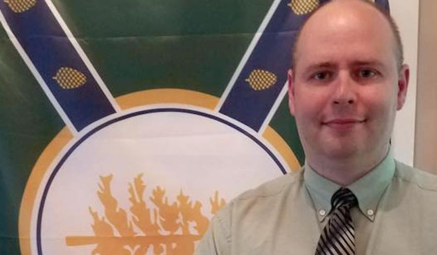 Jackman, Maine, town manager Tom Kawczynski was fired Tuesday after reportedly telling a local newspaper that he wanted to preserve the region's white majority and keep out Muslims. (Facebook/@Tom Kawczynski)