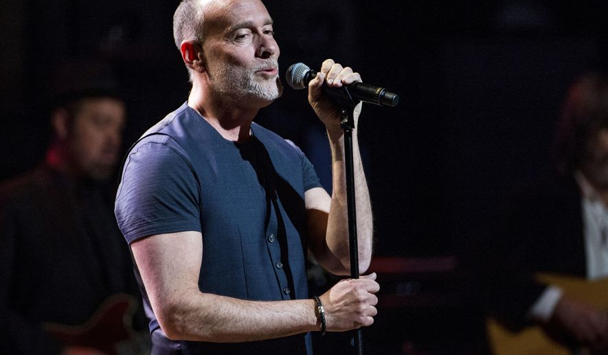 FILE - In this March 9, 2017 file photo, Marc Cohn performs at Love Rocks NYC! in New York. After winning a Grammy in 1991, singer-songwriter Mark Cohn charted his own course, a long winding road which led him to songs that have been Grammy nominated for two years in a row. (Photo by Amy Harris/Invision/AP, File)