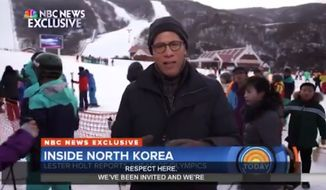 "NBC News anchor Lester Holt is facing backlash on social media after he said he and his crew were ""treated with respect"" by North Korean officials during their trip to the Masikryong Ski Resort in the totalitarian country. (NBC News)"