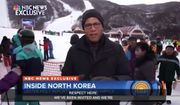 """NBC News anchor Lester Holt is facing backlash on social media after he said he and his crew were """"treated with respect"""" by North Korean officials during their trip to the Masikryong Ski Resort in the totalitarian country. (NBC News)"""