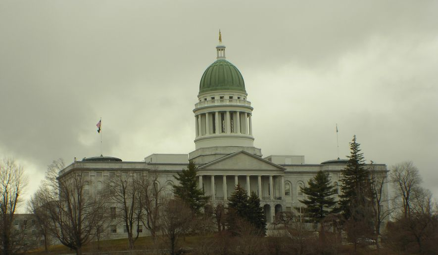 The Maine State House is shown in this photo by Terry Ross from Corpus Christi, Texas, via Wikimedia Commons. (Wikimedia)