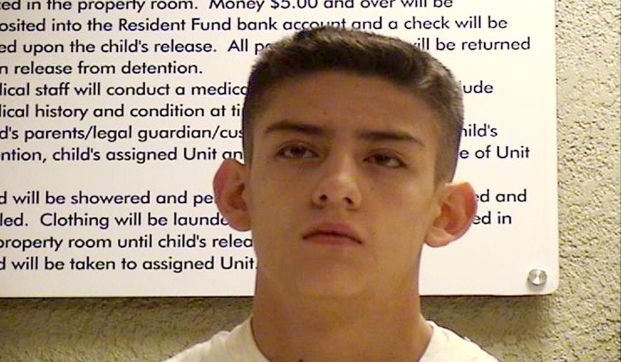 FILE - Nehemiah Griego, 15, is seen in an undated photo provided by the Bernalillo County Sheriff's Deptartment. Two older sisters of Griego, who pleaded guilty to killing his parents and three younger siblings when he was a teenager, said Tuesday, Jan. 23, 2018, they forgive their brother but still want justice for their family. (Bernalillo County Sheriff's Department, File)