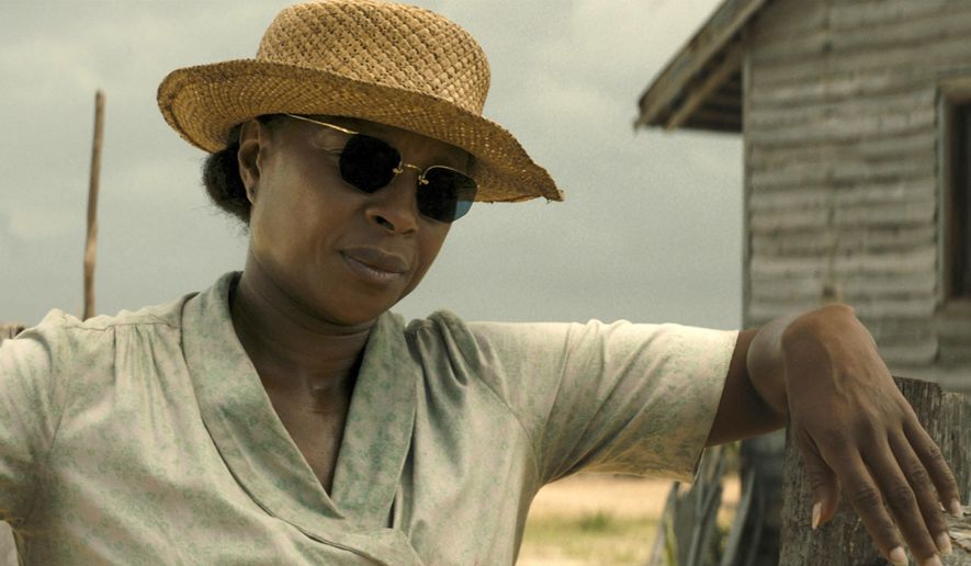 """This image released by Netflix shows Mary J. Blige in a scene from """"Mudbound."""" Blige was nominated for an Oscar for best supporting actress on Tuesday, Jan. 23, 2018. The 90th Oscars will air live on ABC on Sunday, March 4. (Netflix via AP)"""
