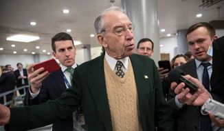 Senate Judiciary Committee Chairman Chuck Grassley. (Associated Press/File)