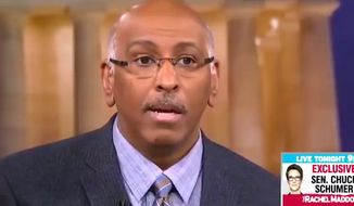 "Former RNC Chairman Michael Steele appeared on MSNBC's ""Hard Ball with Chris Matthews"" on Tuesday, Jan. 23, 2018. (Image: MSNBC screenshot) ** FILE **"