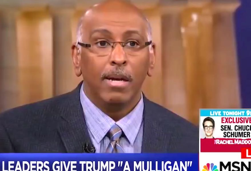 """Former RNC Chairman Michael Steele appeared on MSNBC's """"Hard Ball with Chris Matthews"""" on Tuesday, Jan. 23, 2018. (Image: MSNBC screenshot) ** FILE **"""