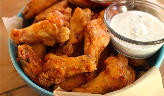 Chicken wings. (Associated Press) ** FILE **