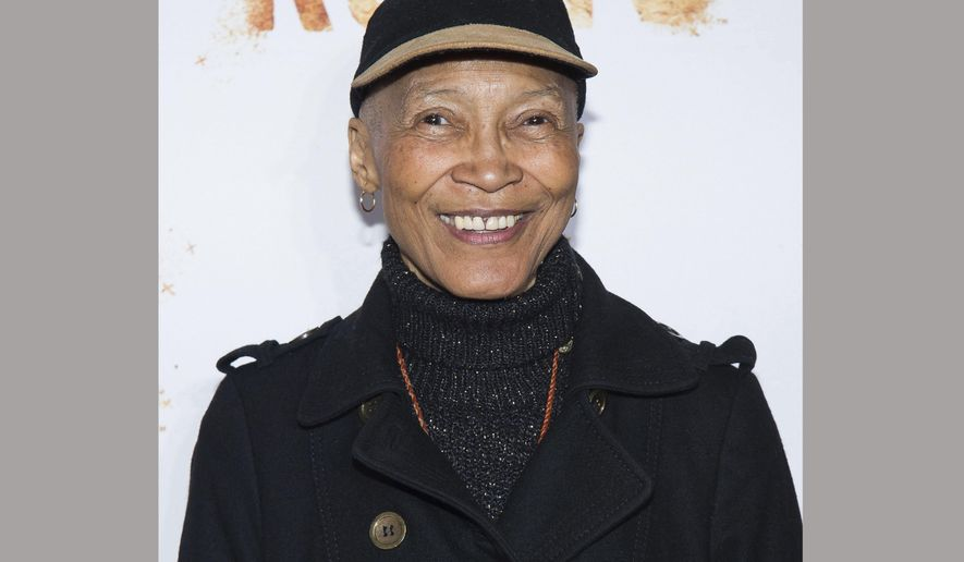 "FILE - In this May 23, 2016 file photo, actress Olivia Cole, who starred in the original TV series ""Roots,"" attends the premiere of History Channel's updated ""Roots"" mini-series in New York. A funeral association official says that Cole died of a heart attack last Friday, Jan. 19, 2018, at her home in San Miguel de Allende, a city in central Mexico. She was 75. (Photo by Charles Sykes/Invision/AP, File)"