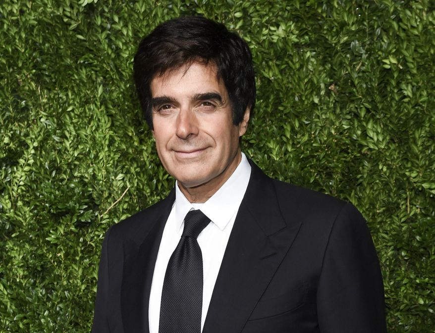 FILE - In this Nov. 6, 2017 file photo, David Copperfield attends the 14th Annual CFDA Vogue Fashion Fund Gala in New York. Copperfield has declared his support for the Me Too movement in a lengthy statement online in the wake of new allegations of misconduct. (Photo by Evan Agostini/Invision/AP, File)