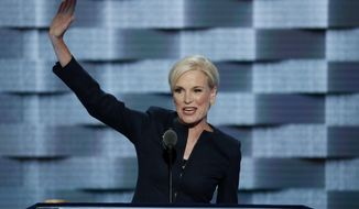 FILE - In this Tuesday, July 26, 2016 file photo, Planned Parenthood President Cecile Richards waves after speaking during the second day of the Democratic National Convention in Philadelphia. On Friday, Jan. 26, 2018, Richards, who led Planned Parenthood through 12 tumultuous years, said she is stepping down as its president. (AP Photo/J. Scott Applewhite)