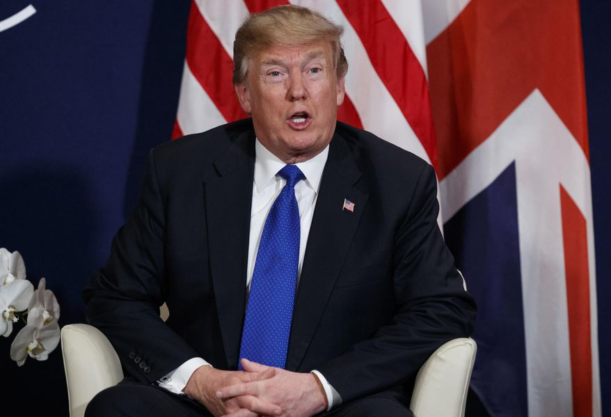 President Trump is poised to deliver his plan to Capitol Hill this week and make his case directly to the public in his State of the Union address. (Associated Press/File)