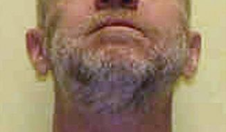 FILE - This undated file photo provided by the Ohio Department of Rehabilitation and Correction shows death row inmate Raymond Tibbetts, convicted of fatally stabbing Fred Hicks in 1997 in Cincinnati. Tibbetts is scheduled to be executed on Tuesday, Feb. 13, 2018, and attorneys trying to stop his execution say Ohio Gov. John Kasich should consider the state's opioid epidemic when deciding whether to spare Tibbetts, arguing the condemned killer's life spiraled out of control after becoming addicted to painkillers inappropriately prescribed for a work injury in the mid-1990s. (Ohio Department of Rehabilitation and Correction via AP, File)