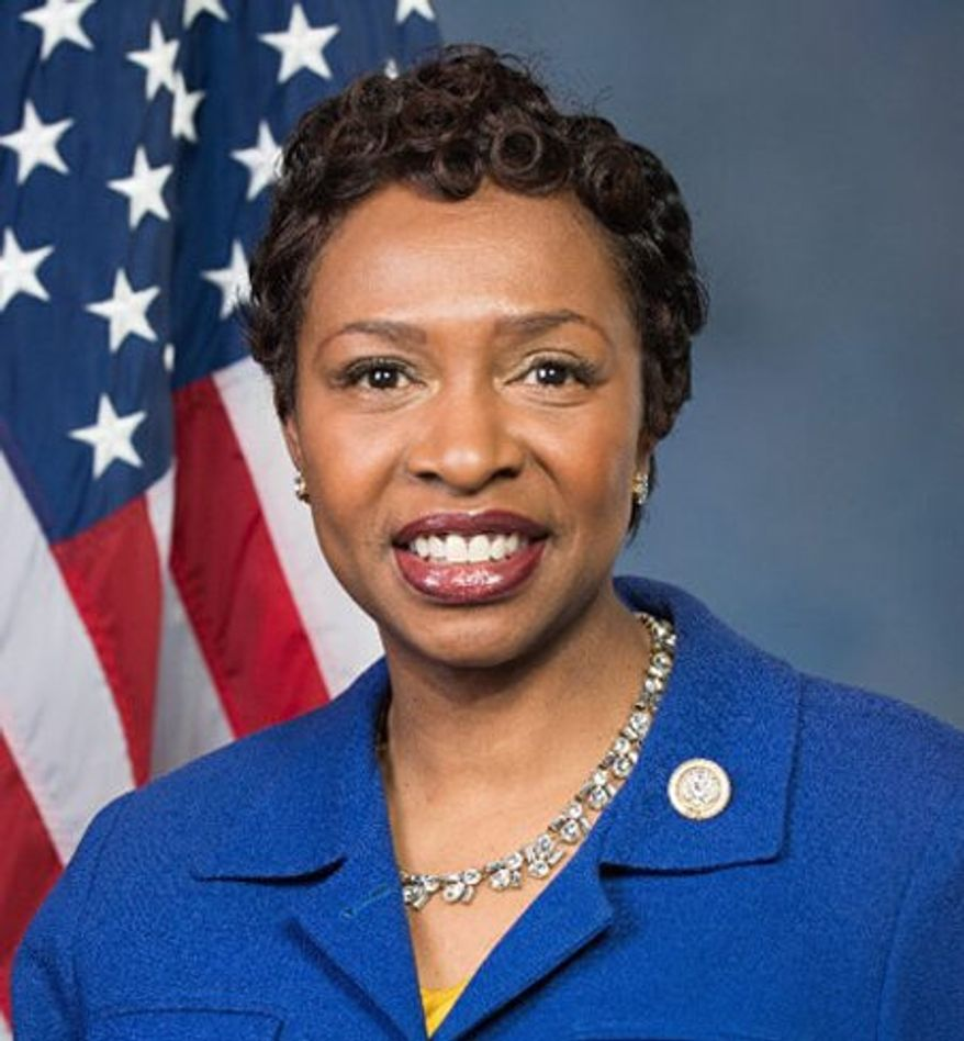 Rep. Yvette Clarke, New York Democrat.