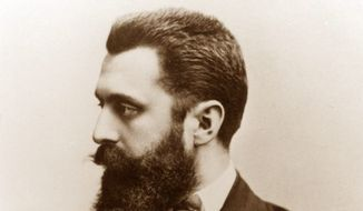 Theodor Herzl. (Associated Press) ** FILE **