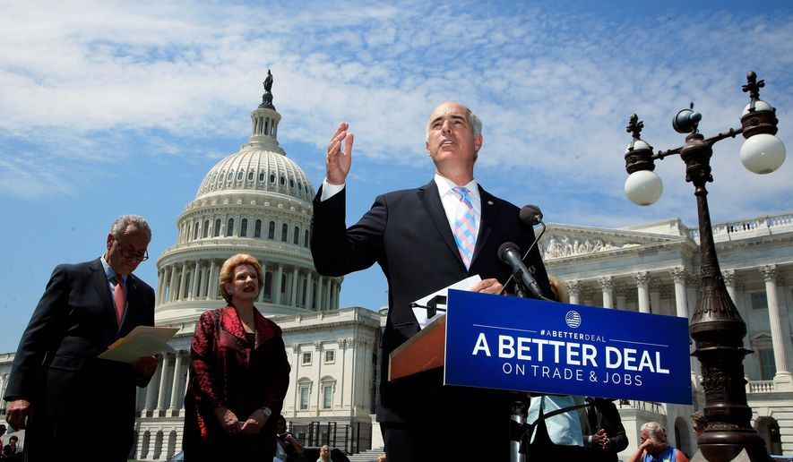 Democratic Sen. Bob Casey Jr. of Pennsylvania broke party lines to vote for the Pain-Capable Unborn Child Protection Act, as he did in 2015. He is up for re-election. (Associated Press)