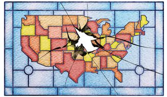 Ailing Churches in America Illustration by Greg Groesch/The Washington Times