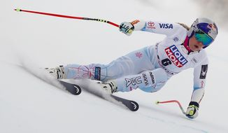 U.S. skier Lindsey Vonn has four World Cup overall titles and seven world championship medals. Her primary goal is being healthy for the Winter Olympics. (Associated Press)