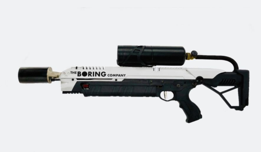 The Boring Company sold 10,000 flamethrowers within 48 hours. Billionaire Elon Musk joked on Jan. 29, 2018, via Twitter that he is not trying to orchestrate a zombie apocalypse. (Image: The Boring Company via Ars Technica)