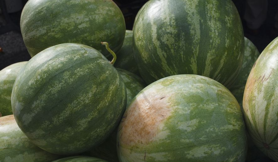 The City Tap Houses and Roofers Union will serve specialties this Saturday for National Watermelon Day. (Associated Press/File)
