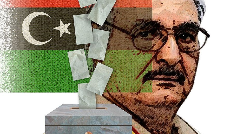The Election of Khalifa Haftar Illustration by Greg Groesch/The Washington Times