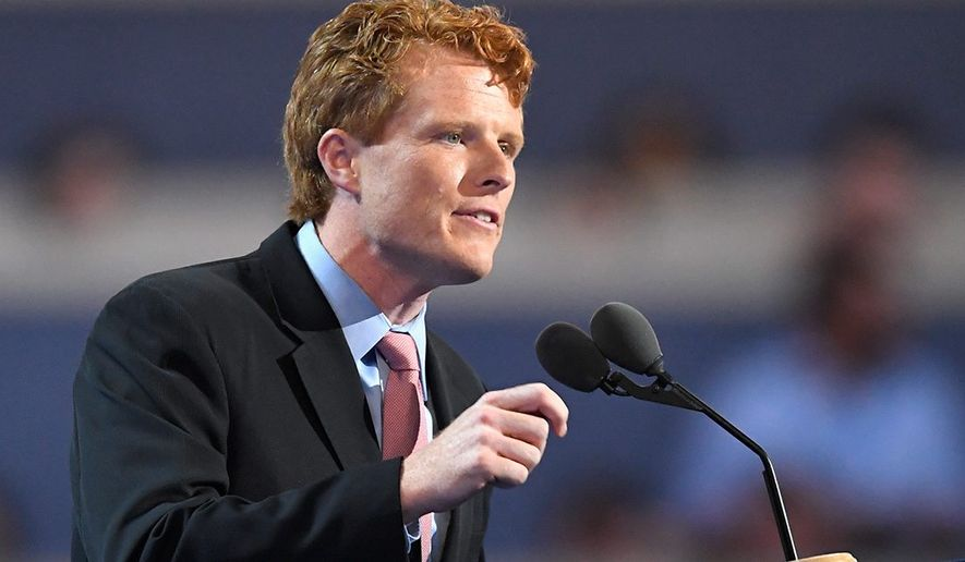 "Rep. Joe Kennedy III vowed to ""fight"" when he offered the Democratic Party's official rebuttal to President Trump's State of the Union address. (Associated Press)"