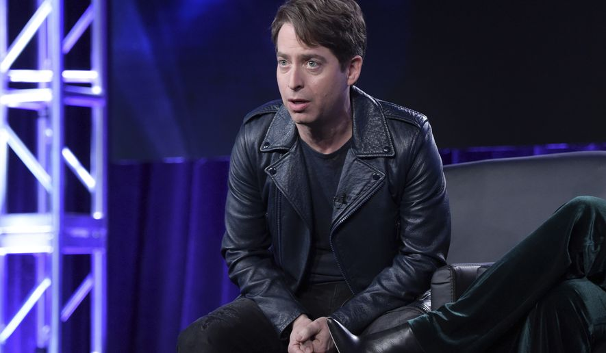 "Charlie Walk participates in ""The Four"" panel during the FOX Television Critics Association Winter Press Tour on Thursday, Jan. 4, 2018, in Pasadena, Calif. (Photo by Richard Shotwell/Invision/AP)"