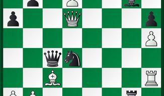 Bluebaum-Xiong after 38. Qd6.