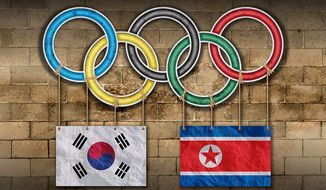 North Korea Olympic Participation Illustration by Greg Groesch/The Washington Times