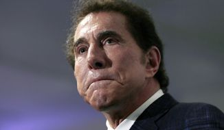 Casino mogul Steve Wynn has vehemently denied the allegations, which he attributes to a campaign led by his ex-wife.  (AP Photo/Charles Krupa, File)