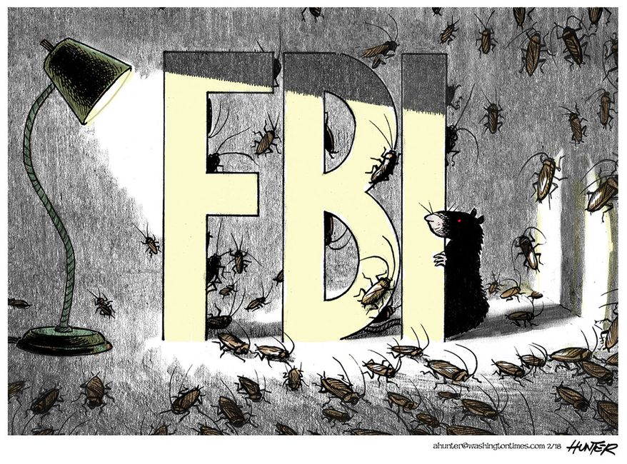 Illustration by Alexander Hunter for The Washington Times (published 2/5/18)