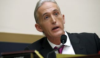 """They could have easily said it was the DNC and Hillary Clinton. That would have been really easy,"" said Rep. Trey Gowdy, South Carolina Republican. (Associated Press/File)"