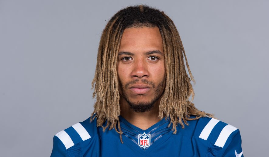 This is a 2017 photo of Edwin Jackson of the Indianapolis Colts NFL football team. This image reflects the Indianapolis Colts active roster as of Tuesday, June 13, 2017 when this image was taken. (AP Photo)