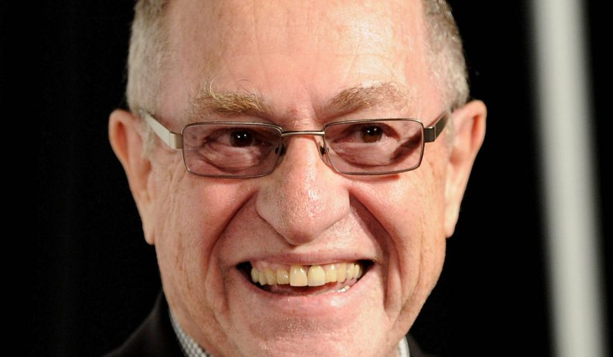Alan Dershowitz. (Associated Press) ** FILE **